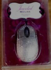 Jeweled Mouse - BRAND NEW IN PACKAGE - GLAMOROUS SPARKLE - TRI-COASTAL DESIGN
