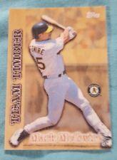 1997 Topps Team Timber #TT12 Mark McGwire Oakland Athletics Baseball Card