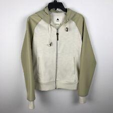 Burton Jacket Size M Hooded Dryride Beige Cream Womens Polyester Cotton Nylon