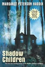 Shadow Children Set by Margaret Peterson Haddix Among Barons Hidden PAPERBACK