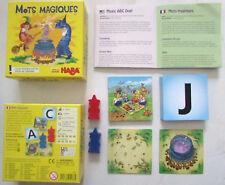 Jeu de cartes Mots magiques Haba / À partir de 6 ans / 2 joueurs / Très bon état