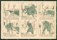 Militari Franchigia Fascismo FG cartolina XF4111
