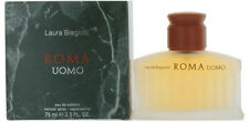 Roma Uomo by Laura Biagiotti for Men EDT Cologne Spray 2.5 oz NEW IN BOX -SEALED