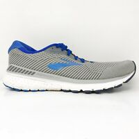 Brooks Mens Adrenaline GTS 20 1103071B051 Gray Blue Running Shoes Size 11 B