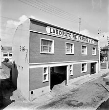NANTERRE c. 1960 - Laboratoire Fraysse Le Bâtiment - Négatif 6 x 6 - N6 IDF37
