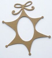Script Phrase Title Christmas Bare Unfinished Chipboard Die Cuts 3 NOEL