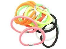 14 Neon Colour Hair Elastics Bobbles Hair Bands 4cm