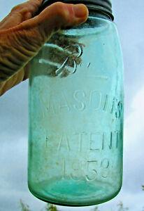 Ball Mason's Jar Patent 1858