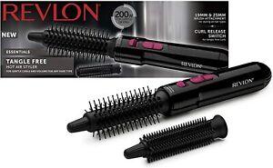 Professional Revlon 200w Tangle Free Hair Hot Air Styler Heat & Speed Setting