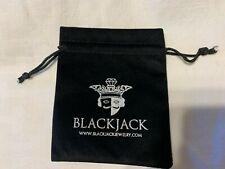 Bag Black Felt New! Blackjack Jewelry