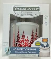 Yankee Candle Scenterpiece Christmas Winter Trees w/ LED and Timer Warmer