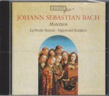 Johann Sebastian Bach: Motetten / La Petite Bande, Sigiswald Kuijken - CD, NEW