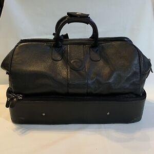 M.Par M Par of Scotland Leather Professional Golfer Weekend Bag