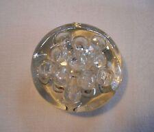 Vintage Glass Clear 11 Holes Flower Frog ~