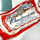 Budweiser 2007 Beer Brand Logo Beach Towel Soft Brewery Red White Blue