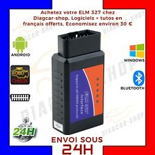 elm 327 Bluetooth Logiciel FRANCAIS OBD2 Interface DIAGNOSTIQUE  ELM327