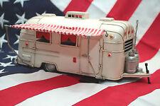tin toy tinplate car blechmodell auto handmade retro AIRSTREAM TRAILER model