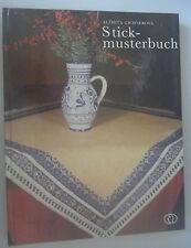 Stickmusterbuch °°°^Kreuzstich,Lochstickerei,durchbruch mit Kästchenstich ......