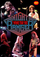 NIGHT RANGER 7 WISHES TOUR 1985 FOXBERRY FBVD-064 SEVEN WISHES SING ME AWAY