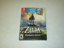 Legend of Zelda: Breath of the Wild Explorer's Edition Nintendo Switch Sealed