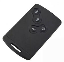4 BUTTON SMART KEY CARD REMOTE KEY SHELL CASE FOB FOR RENAULT LAGUNA MEGANE CLIO