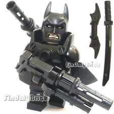 NEW Lego Batman Minifigure with Super Armor and Mess Weapons NEW  (BM002AWSX5)
