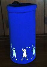 Neophrene Insulated Bottle Holder. Blue