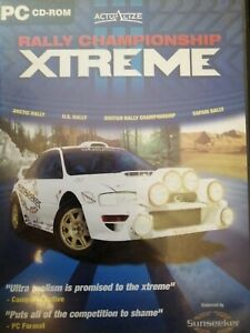 Rally Championship XTREME PC CD-Rom Game Inc Manual - Sunseeker