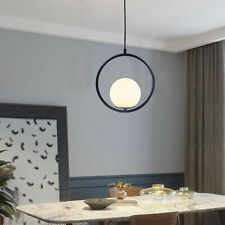 Glass Light LED Chandelier Round Ceiling Pendant Lamp 85-115 CM Cord Length NEW
