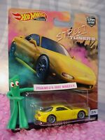 Street Tuners '95 MAZDA RX-7 #2☆yellow☆2019 Hot Wheels Car Culture L