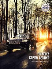 Volvo XC90 05 / 2015 catalogue brochure Austria Autriche