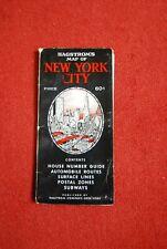 Vintage Hagstrom's Map of New York City