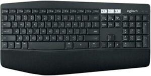Logitech K850 Wireless Bluetooth Keyboard PC Mac Chrome with Unifying Receiver