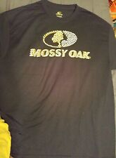 Mossy Oak Men's Black Graphic Short Sleeve T-Shirt Size XL