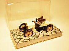 1901 Mercedes Rennwagen racing car in weiss bianco blanc white Cursor 1:43 boxed