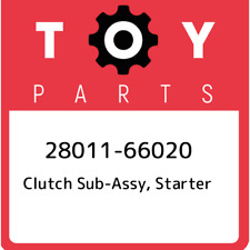 28011-66020 Toyota Clutch sub-assy, starter 2801166020, New Genuine OEM Part
