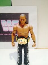 WWE WWF  SHAWN MICHAELS WRESTLING ACTION FIGURE WITH EUROPEAN BELT ACCESSORY