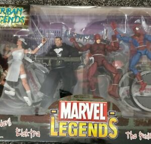 Marvel Action Figures-Urban Legends  Collectors Set VHTF MIB