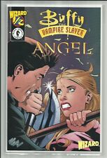 BUFFY THE VAMPIRE SLAYER & ANGEL #1/2 2000 WIZARD MAG LIMITED COMIC WITH COA NM