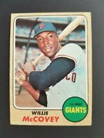 Topps San Francisco Giants 1968 Willie McCovey Trading Card #290