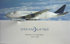 Hogan Wings 1:400 Boeing 747  Dreamlifter N780BA +  Herpa Wings Katalog