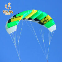 1 sqm 2-Line Power Sports Kite for Kids Outdoor Fun Trainer Traction Kites Nylon