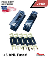 1Pc 10 Way 32V-12v Circuit Blade Fuse Box Fuse Block Fuse Holder ATC ATO Hatc10Q