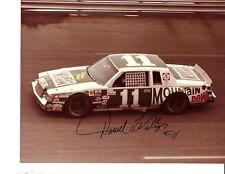 Vintage Autographed Darrell Waltrip NASCAR Auto Racing Photograph