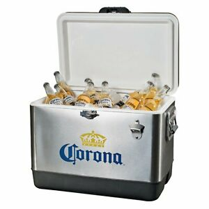 Corona Stainless Steel Cooler 54 quart - Free Shipping