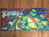 Official Teenage Mutant Ninja Turtles Nintendo Power Poster Vintage TMNT Rare