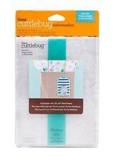 Cricut Cuttlebug GIRLY GIRL Embossables Pattern Folder and Icon Folder