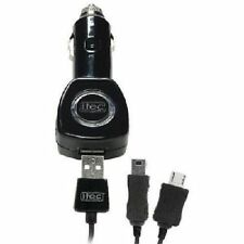 Itec Electronics Compact Blackberry Phone Car Charger Black