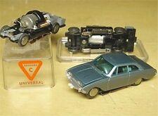1960s Rasant W German Blue Ford Taunus HO Slot Car NOS