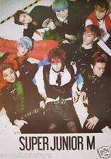 "SUPER JUNIOR ""GROUP WITH COLORFUL HAIR"" POSTER - K-Pop Music, Korean Boy Group"